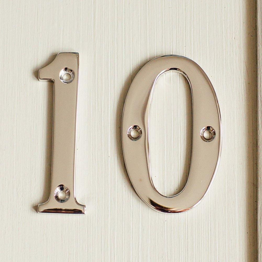 House Number '1' - Nickel