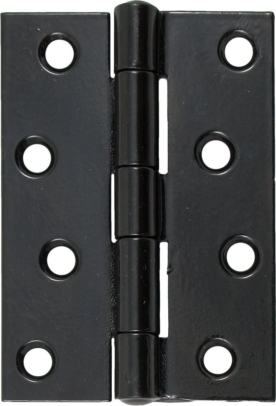 "Black 4"" Butt Hinge (pair)"