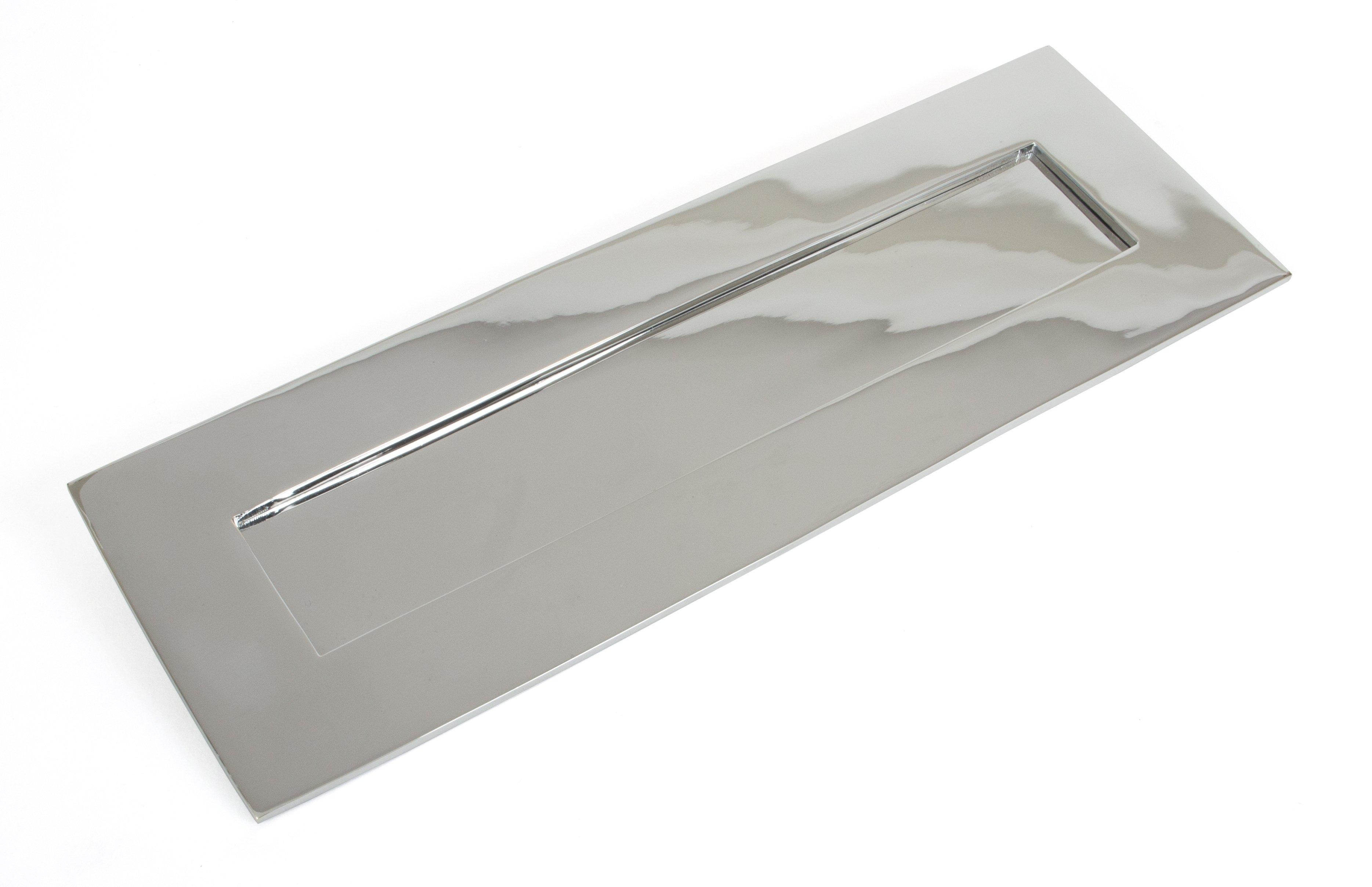 Polished Chrome Letterplate -  Large