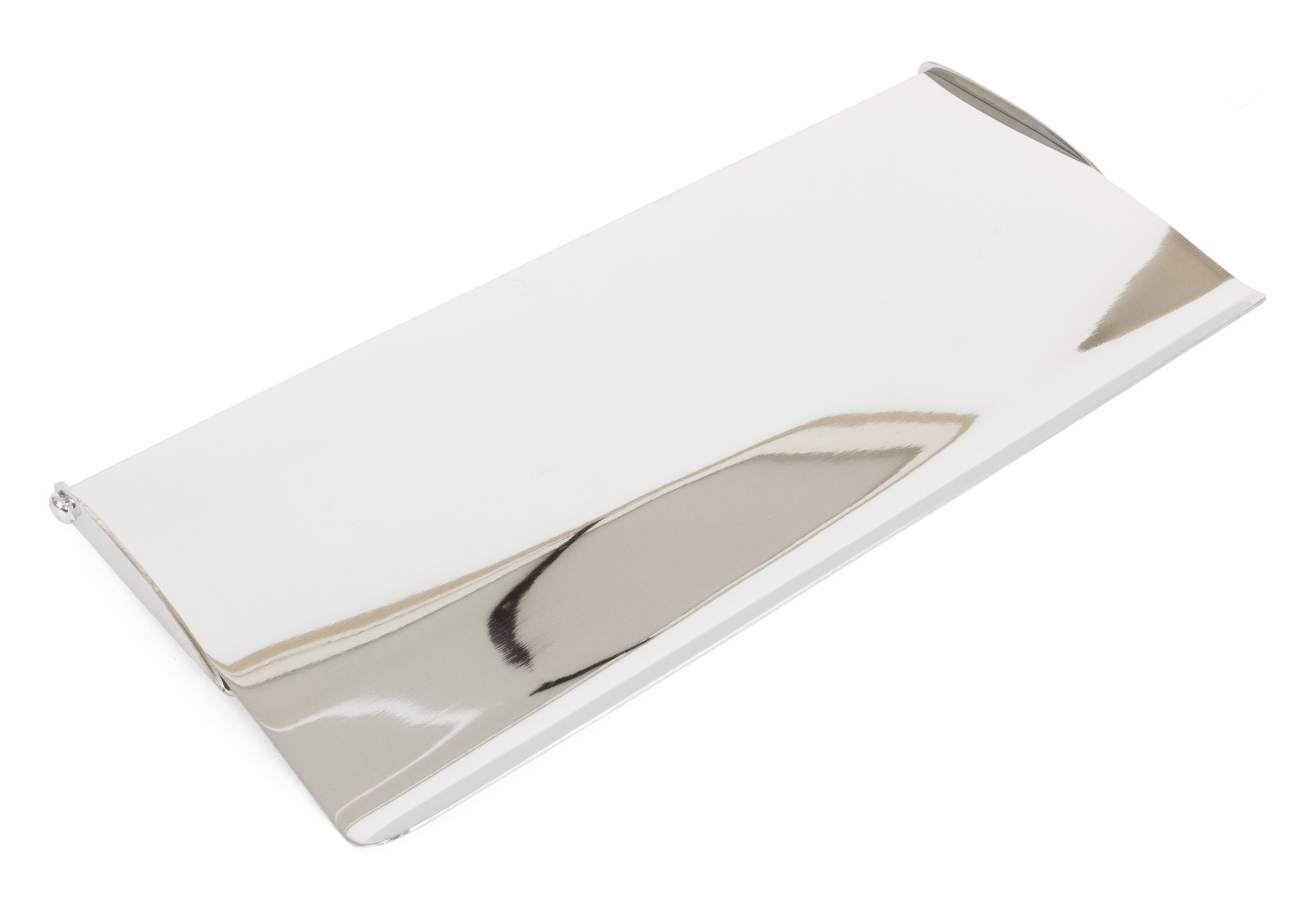 Polished Chrome Small Letterplate Cover