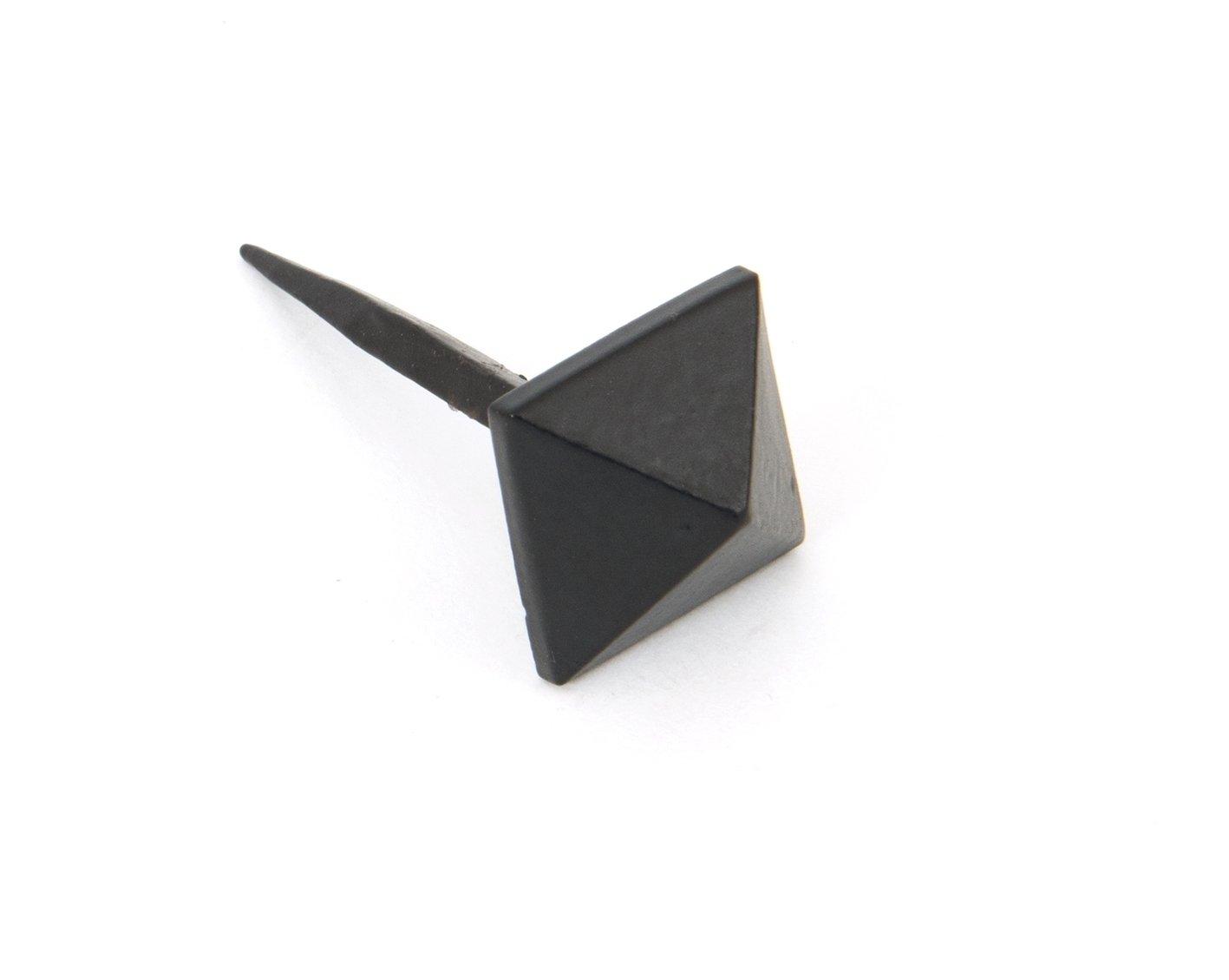 Black Pyramid Door Stud - Small