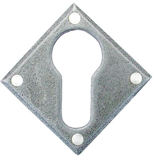 Pewter Diamond Euro Escutcheon image