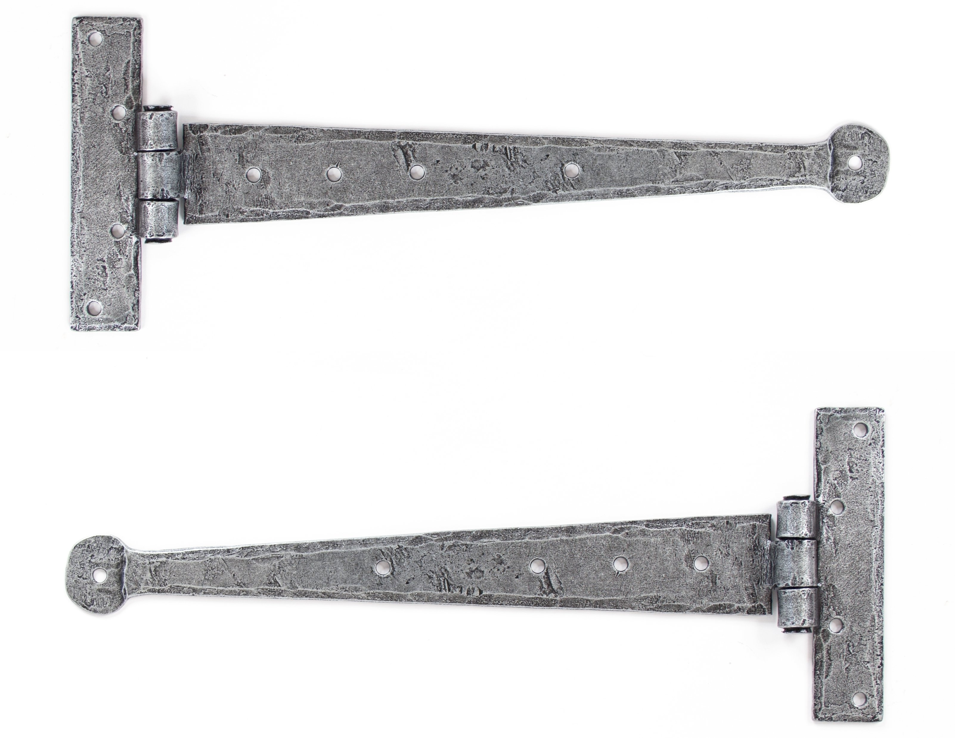 "Pewter 12"" T Hinge (pair)"