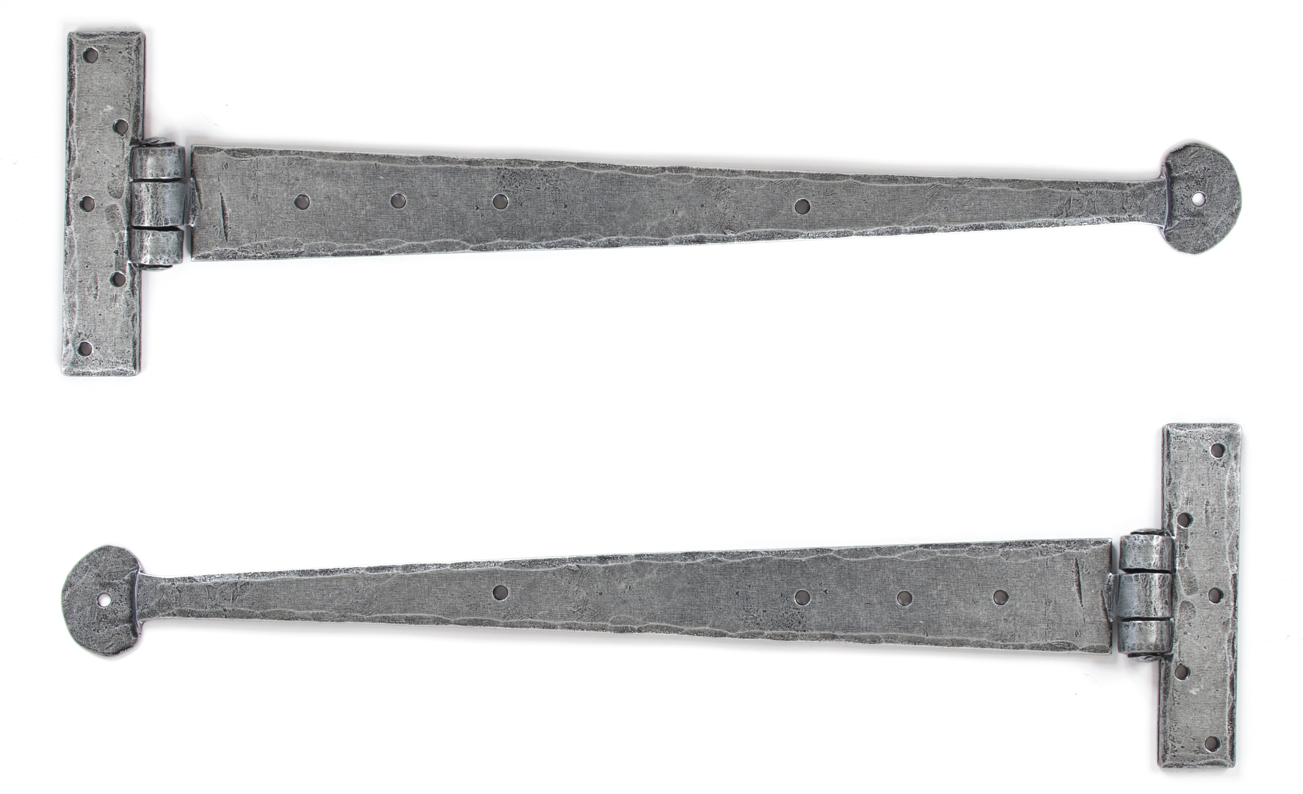 Pewter 15'' T Hinge (pair)