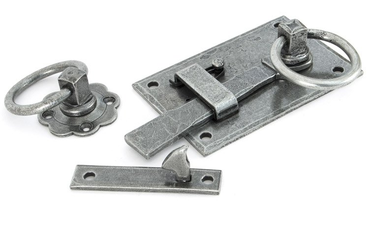Pewter Cottage Latch - RH