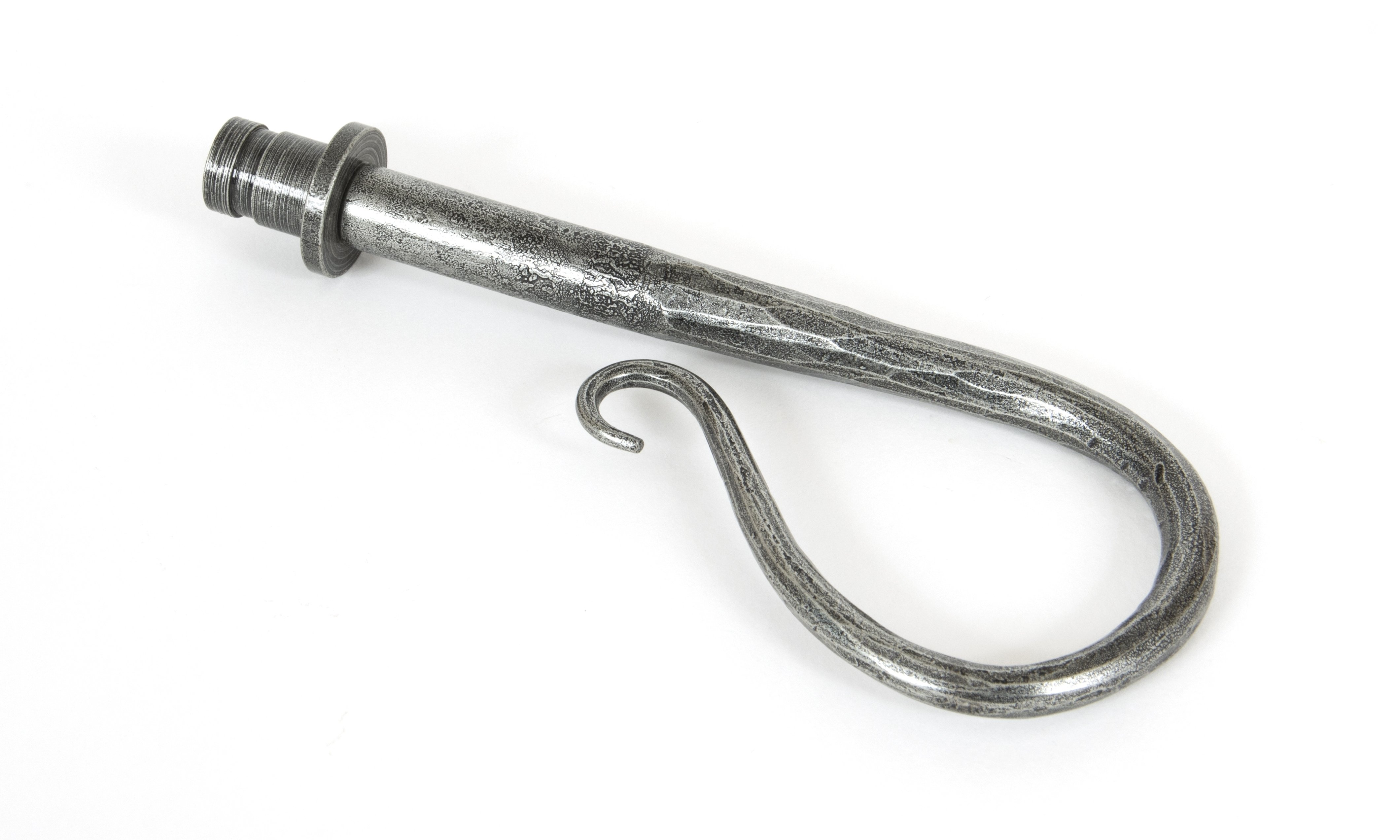 Shepherd's Crook Finial (pair) - Pewter Patina
