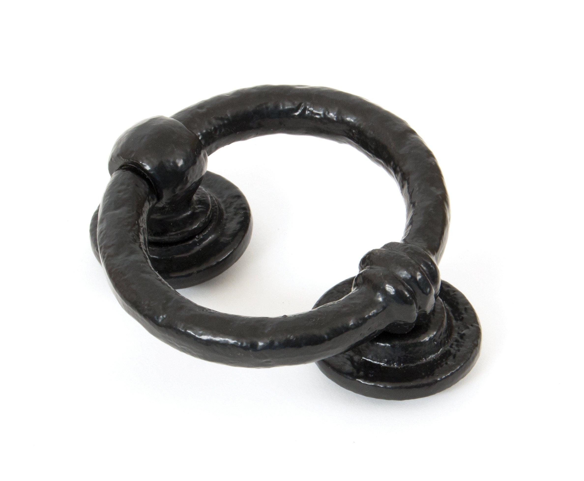 Black 4'' Ring Door Knocker image