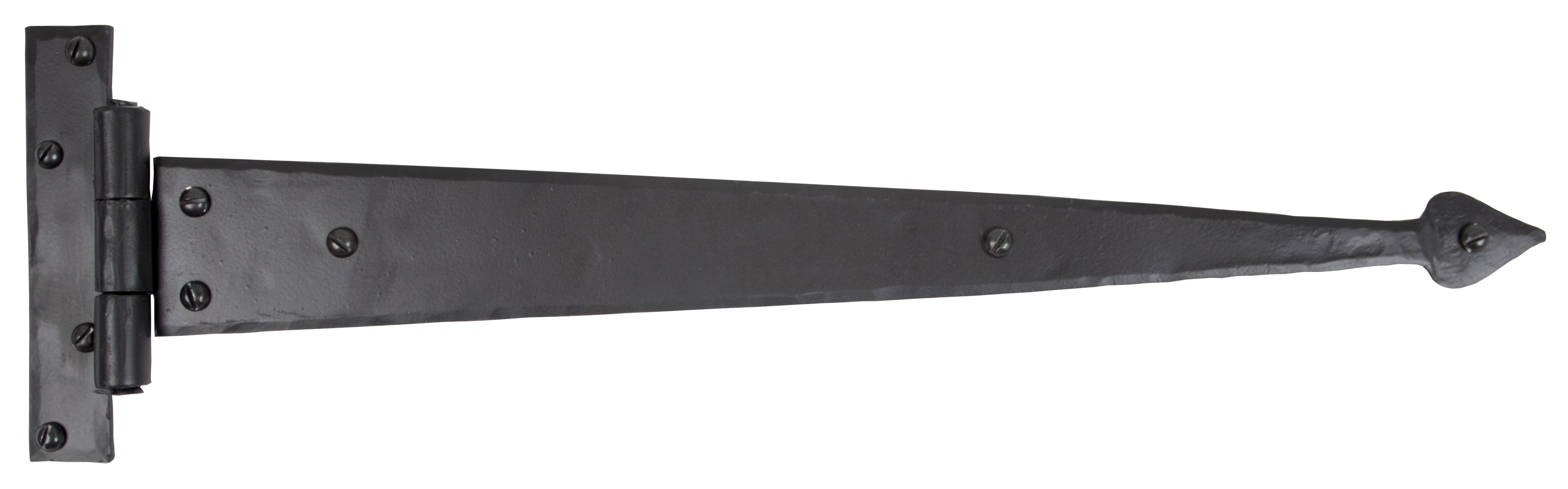 "Black 18"" Arrow Head Hinge (pair)"