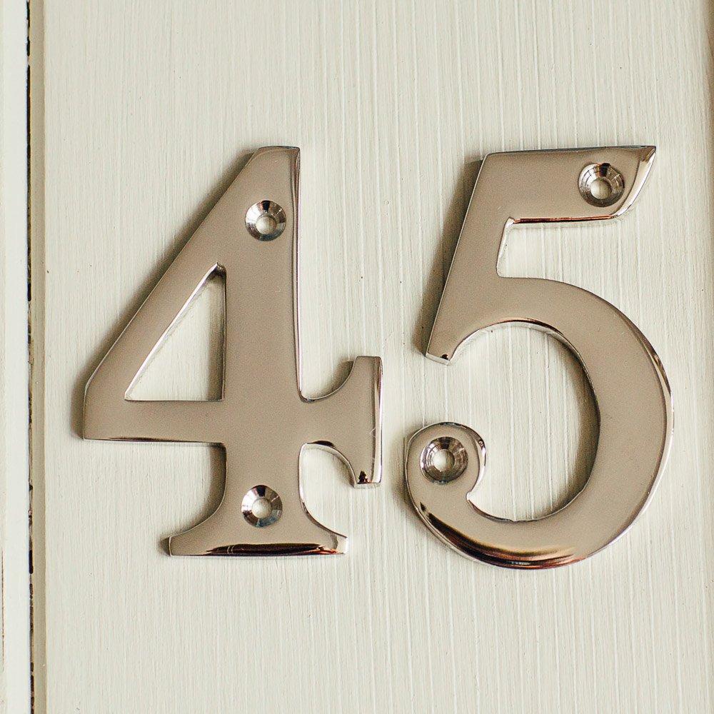 House Number '5' - Nickel