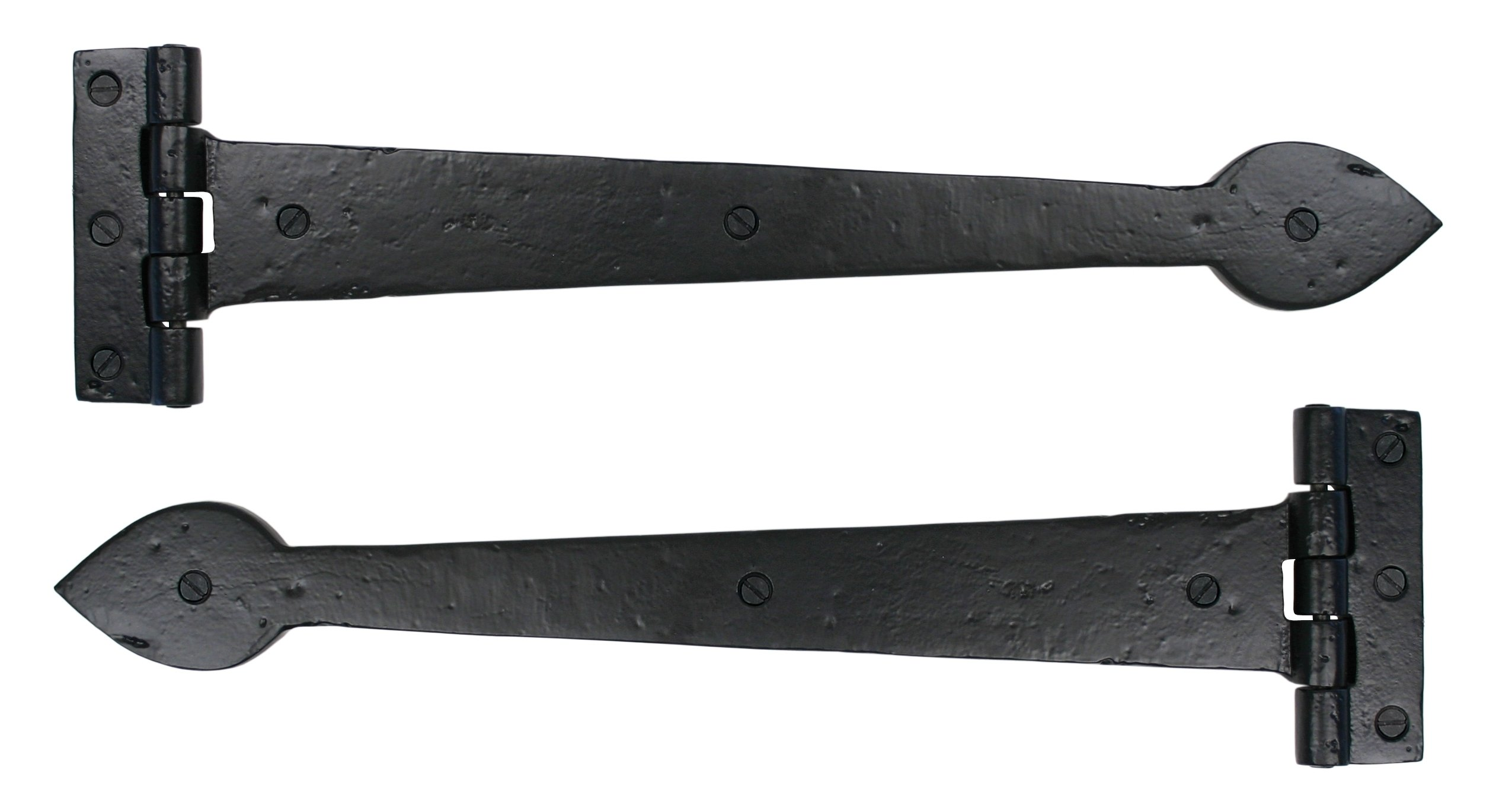 "Black Smooth 16"" T Hinge (pair) image"