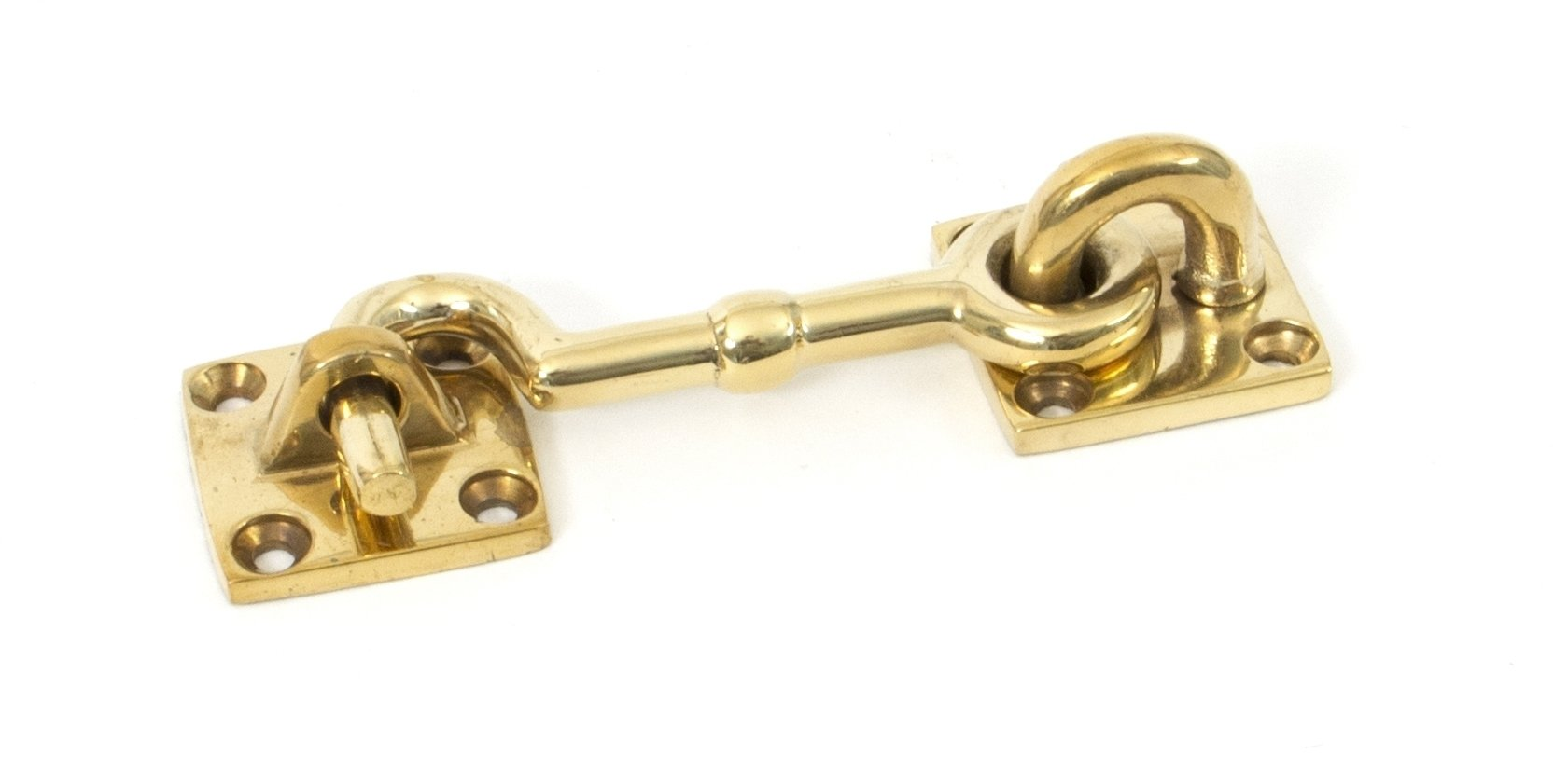 Polished Brass 3'' Cabin Hook