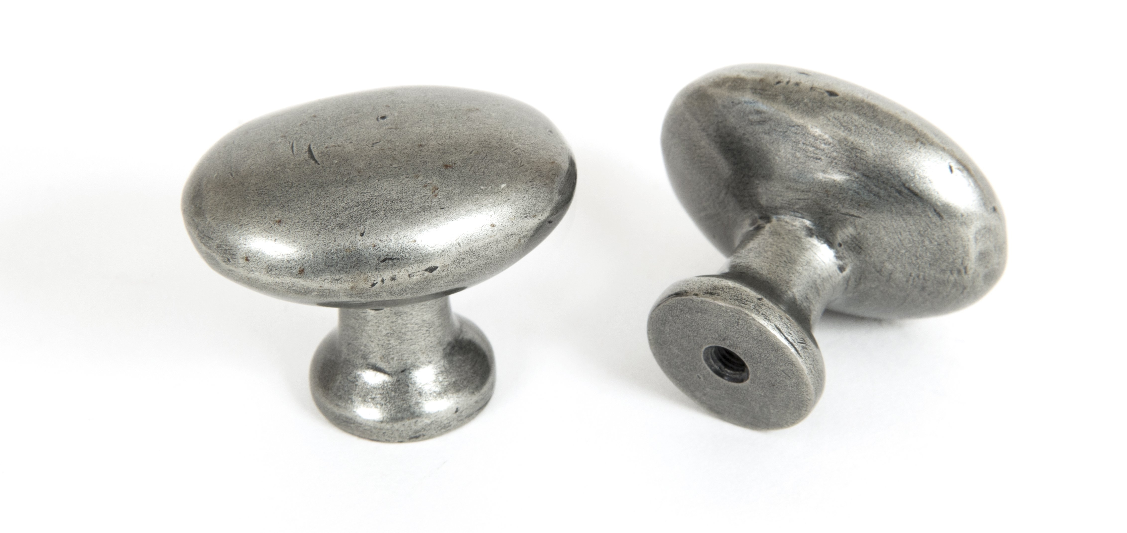Oval Cabinet Knob - Pewter image