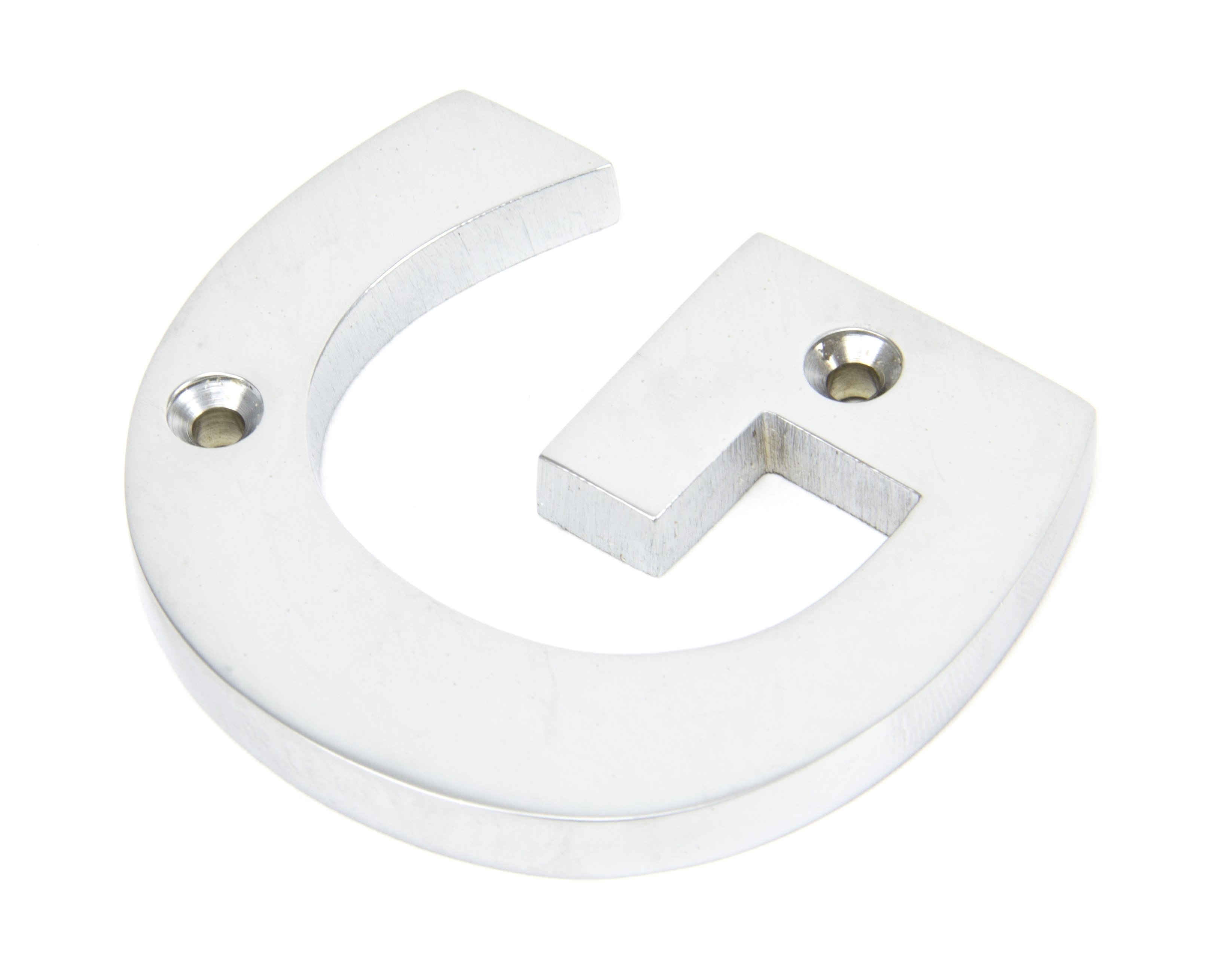 Satin Chrome Letter 'G'