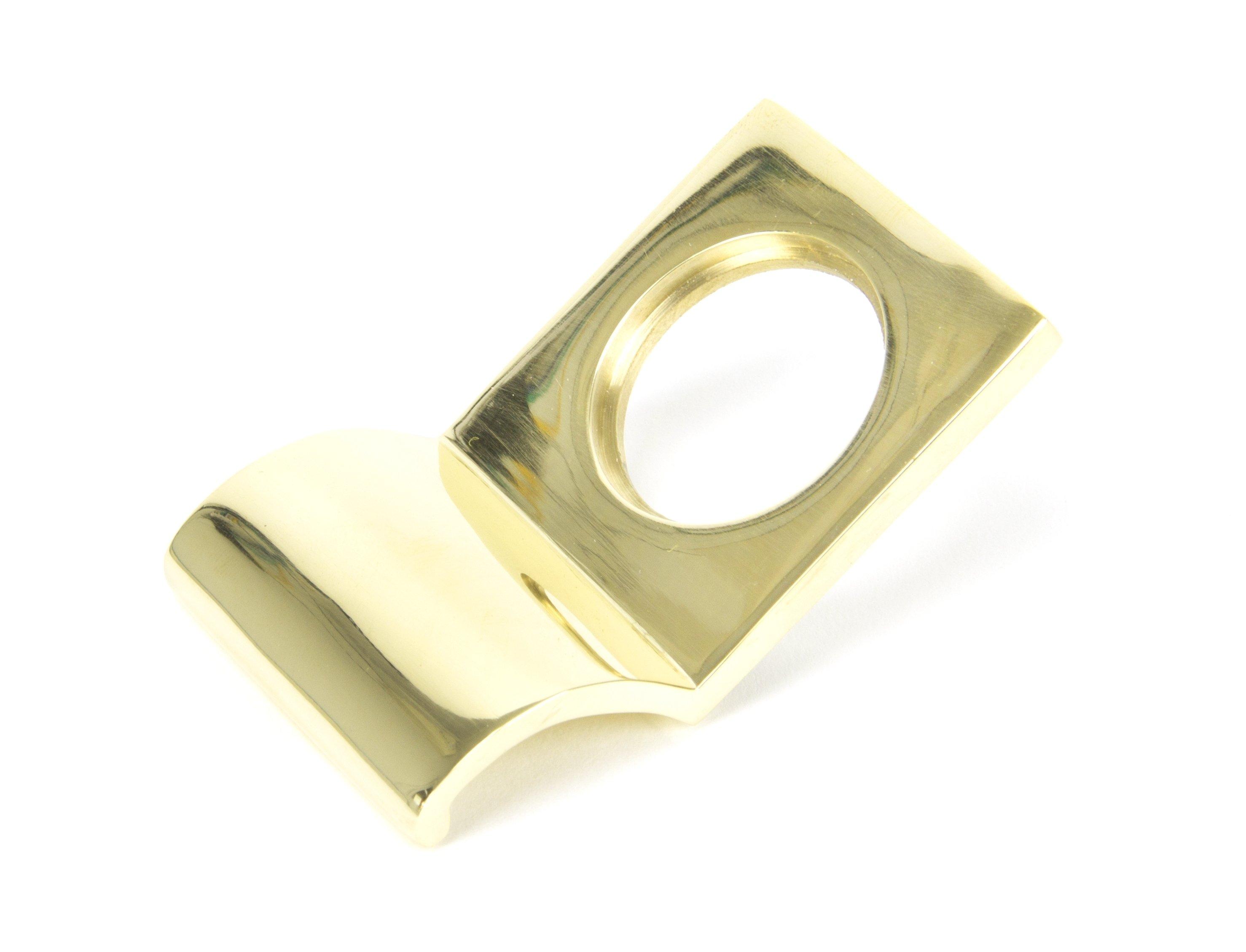 Polished Brass Rim Cylinder Pull