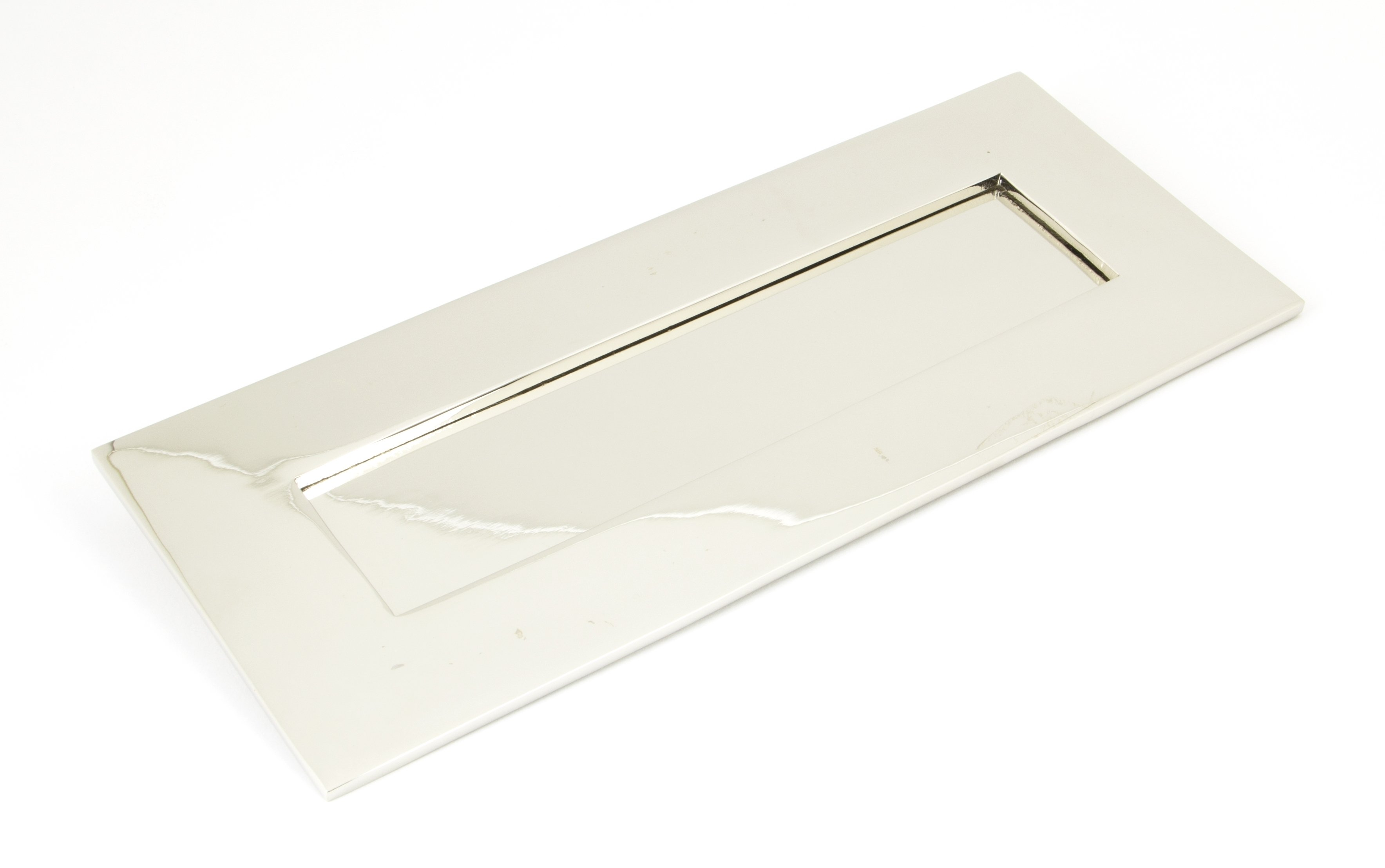 Polished Nickel Letterplate - Small