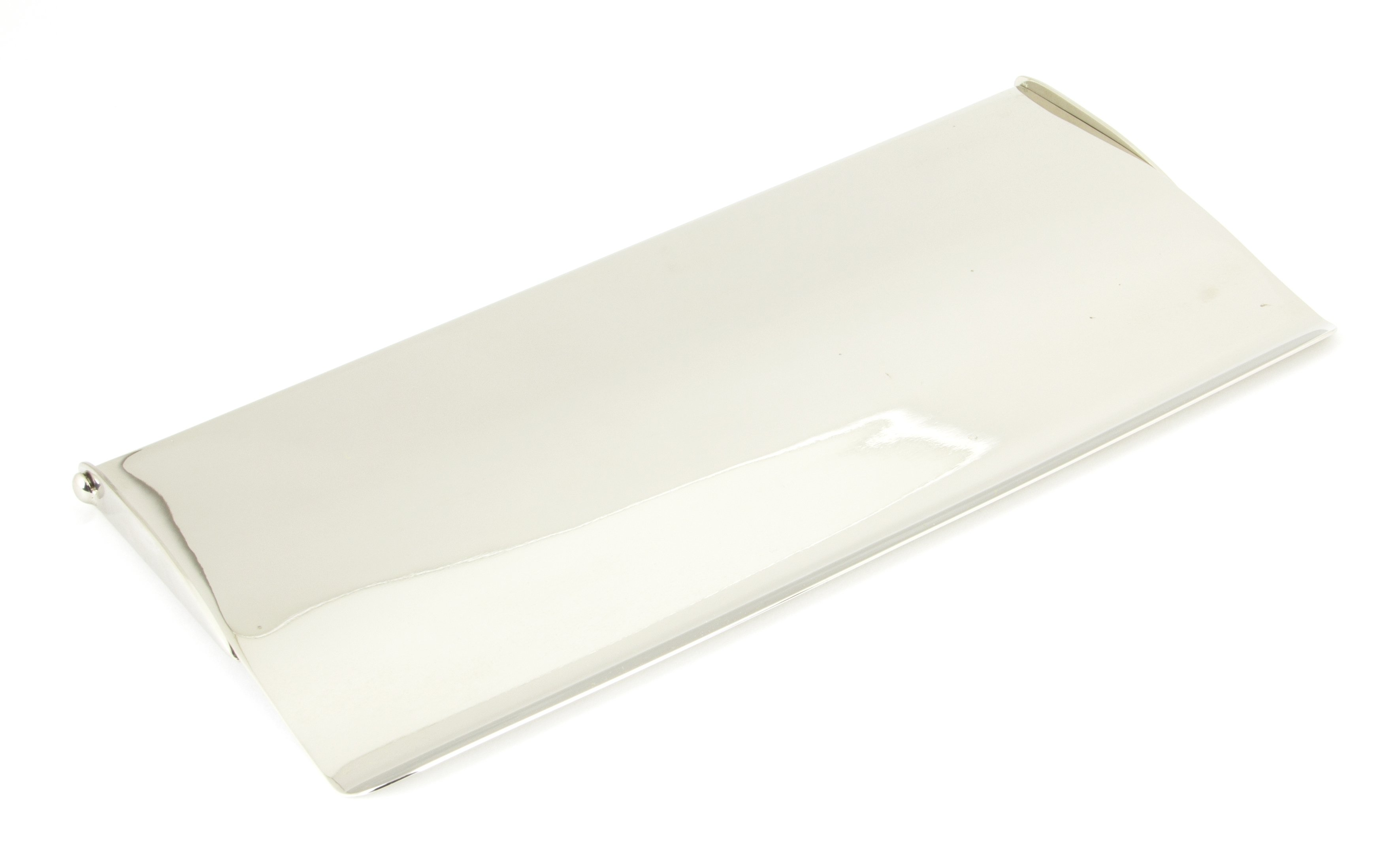 Polished Nickel Letterplate Cover -  Small