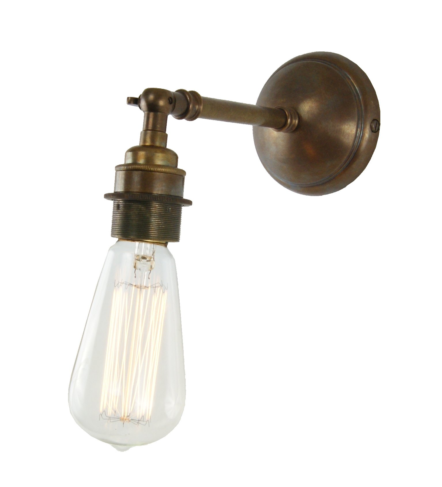 Vintage Bare Bulb Wall Light