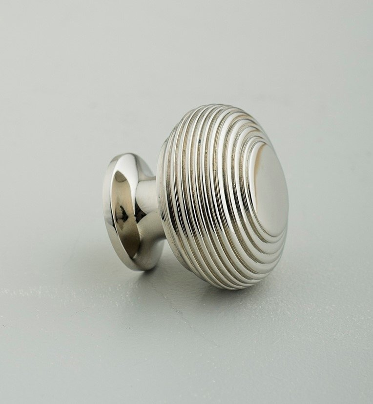 Beehive Large Cabinet Knob - Nickel save 30%