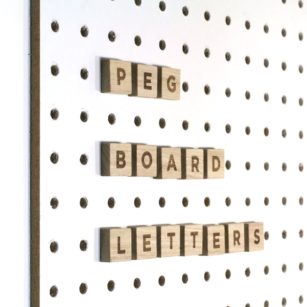 Pegboard Letters