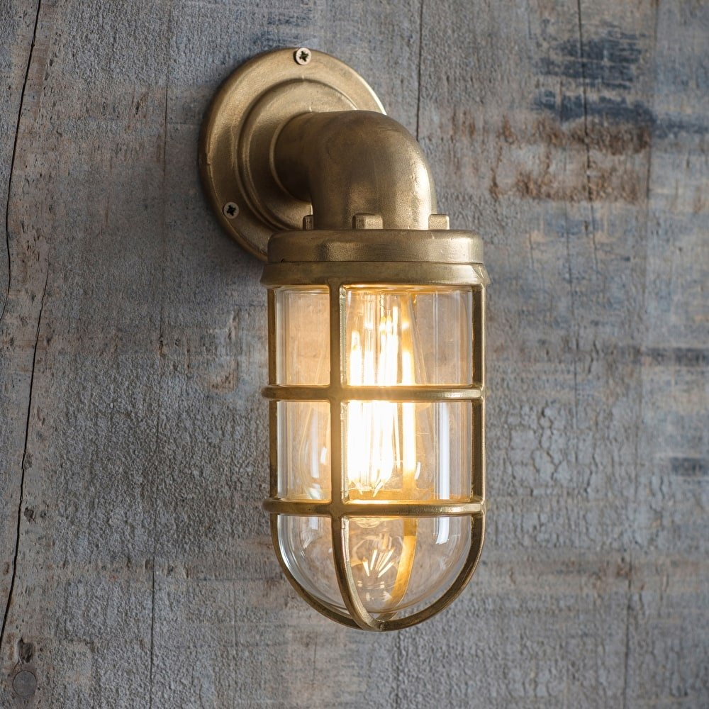 Brass Down Light  - save 15%