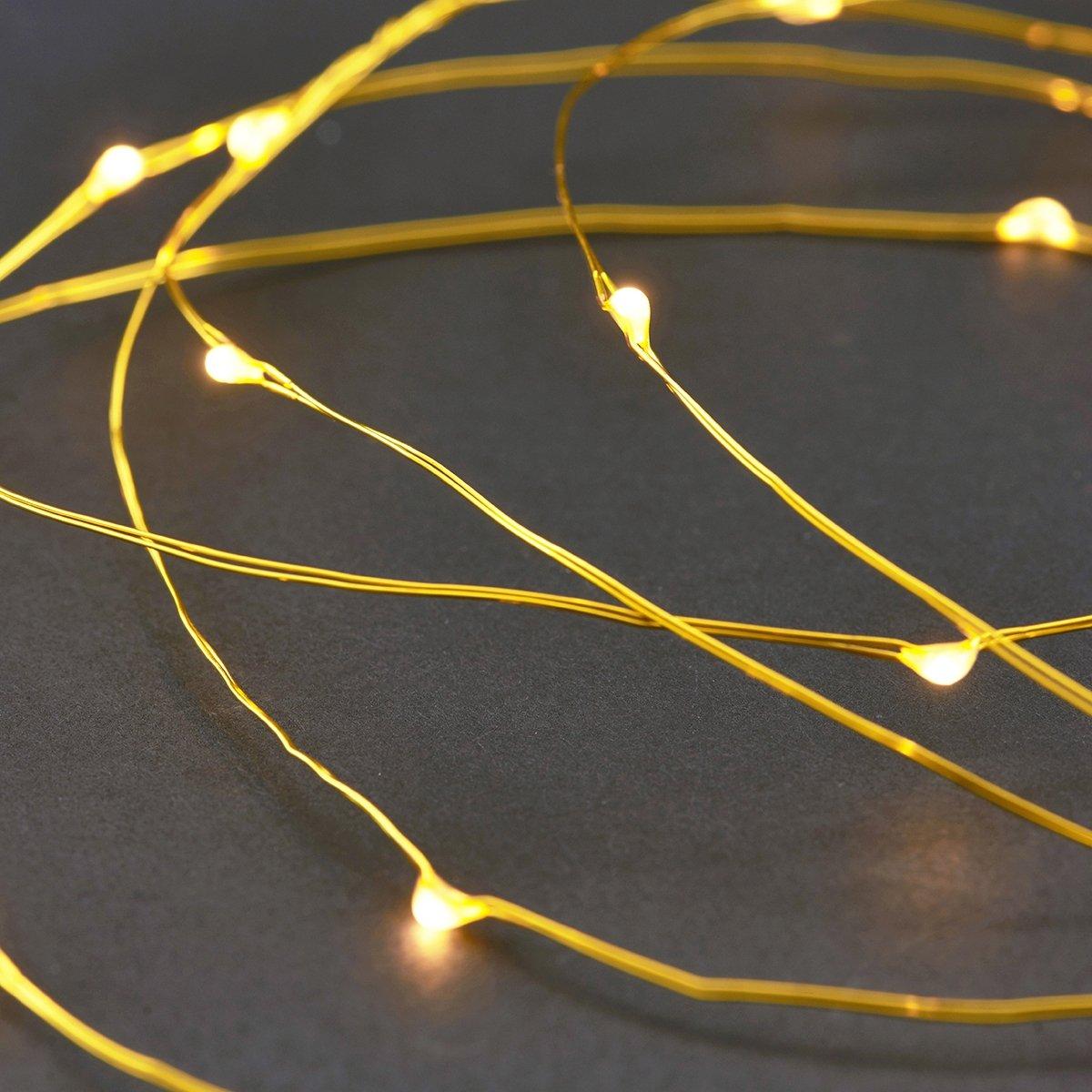 Indoor Outdoor String Lights - Brass