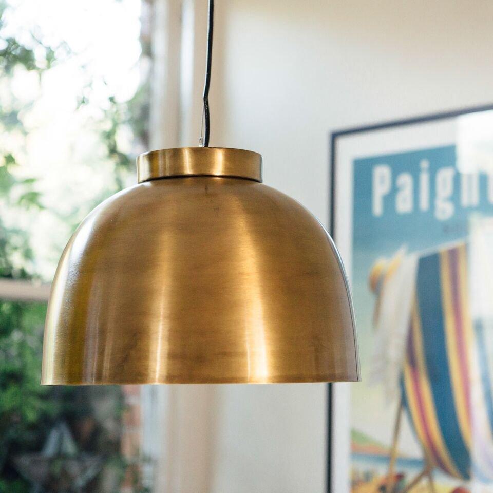 Brass Bowl Pendant Light - save 40%
