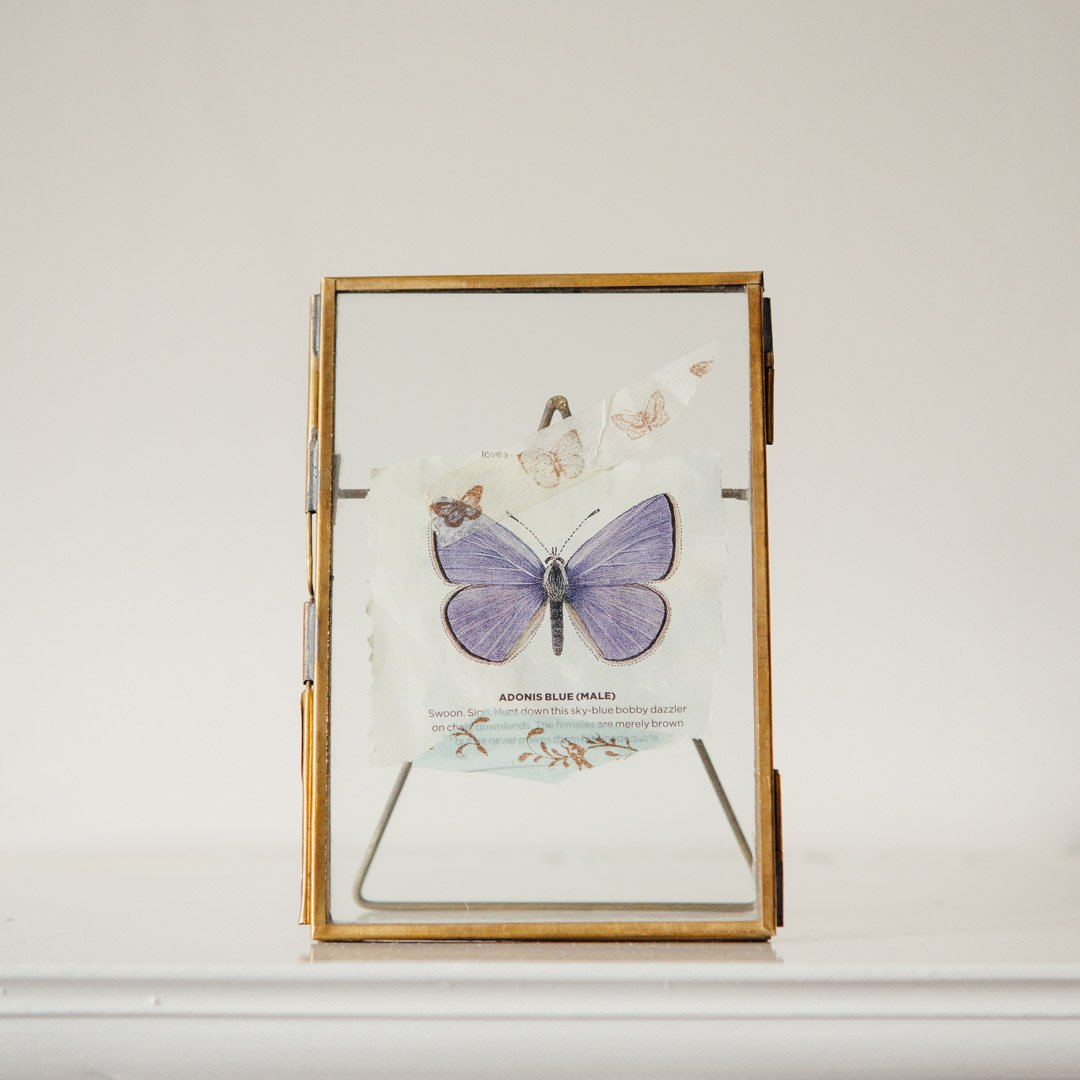 Brass Frames with Stand