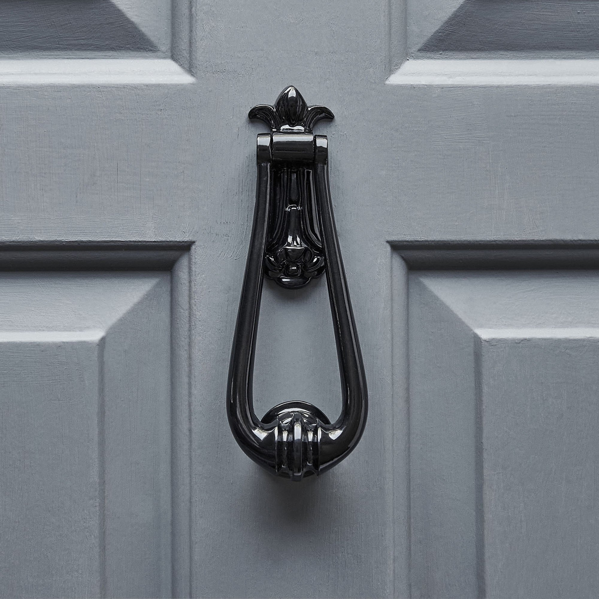 Loop Door Knocker - Black