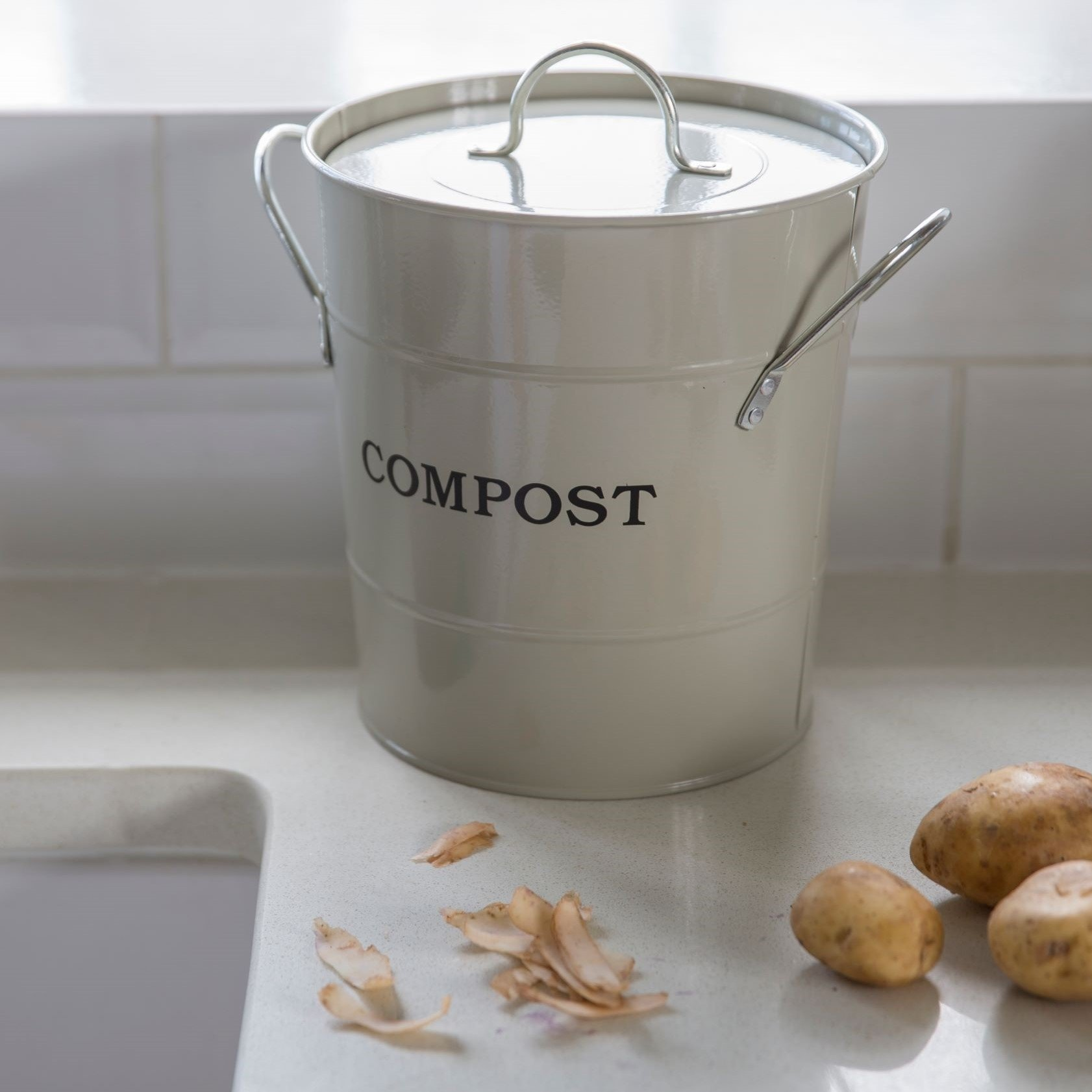 Compost Bin - Clay
