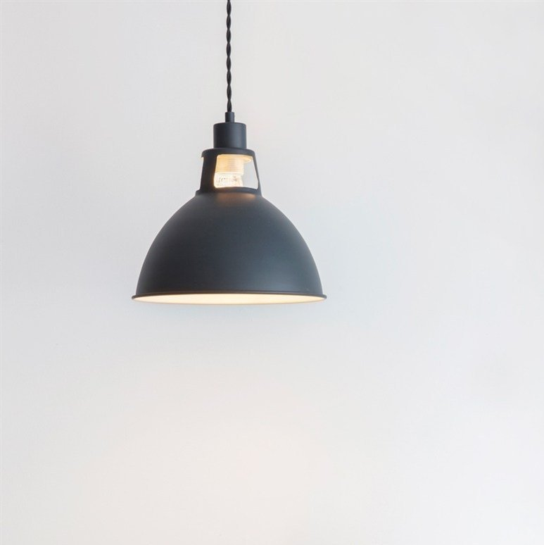 Digbeth Steel Pendant Light - Carbon SAVE 15%