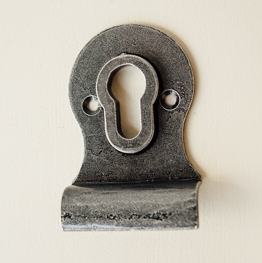Cylinder Pull (Euro) - Pewter