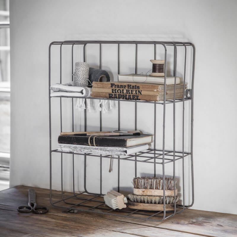 Steel Wirework Crate