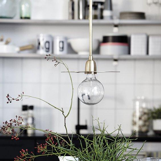 Brass Pendant Light - save 50%