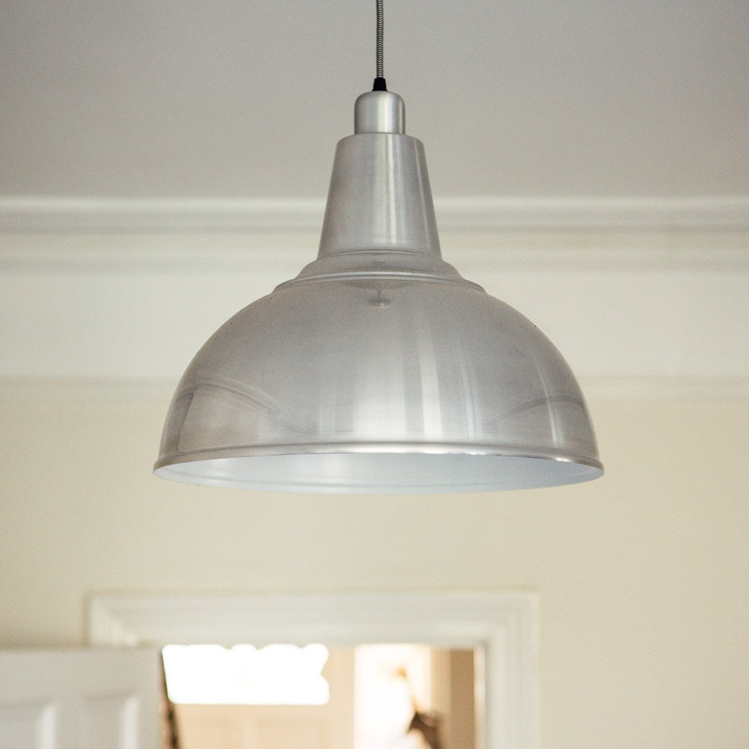 Large Kitchen Pendant Light - Aluminium - SAVE 10%
