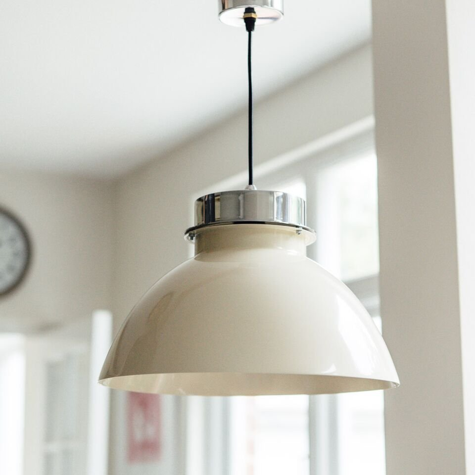 Lucas Pendant Light - Cream