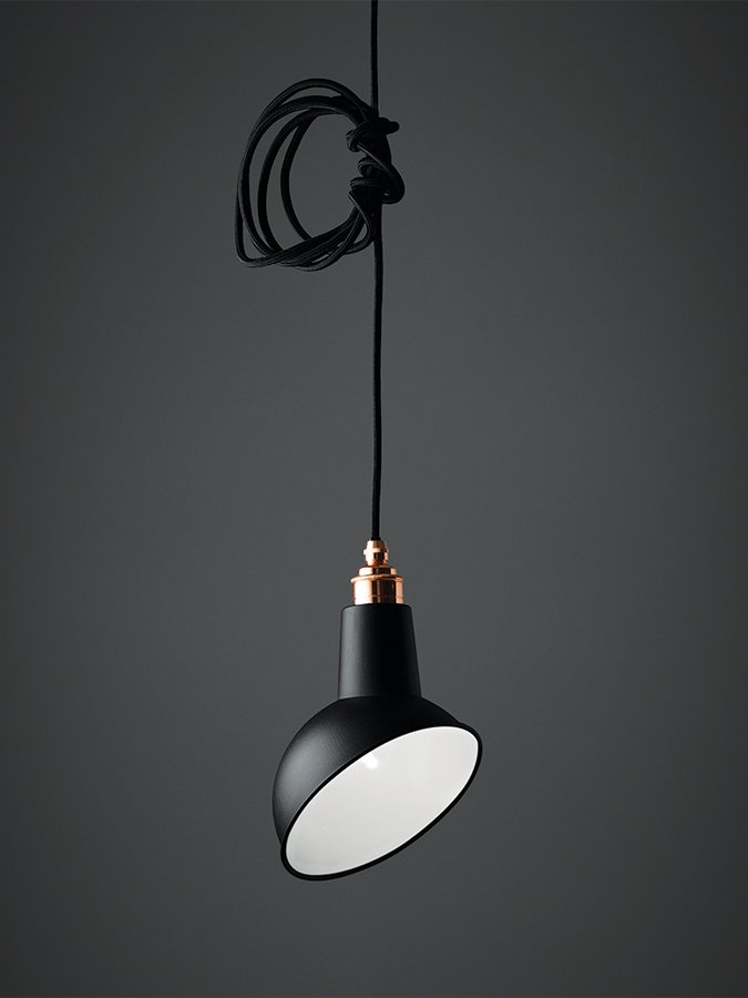 Mini Angled Cloche Pendant Light - SAVE 30%