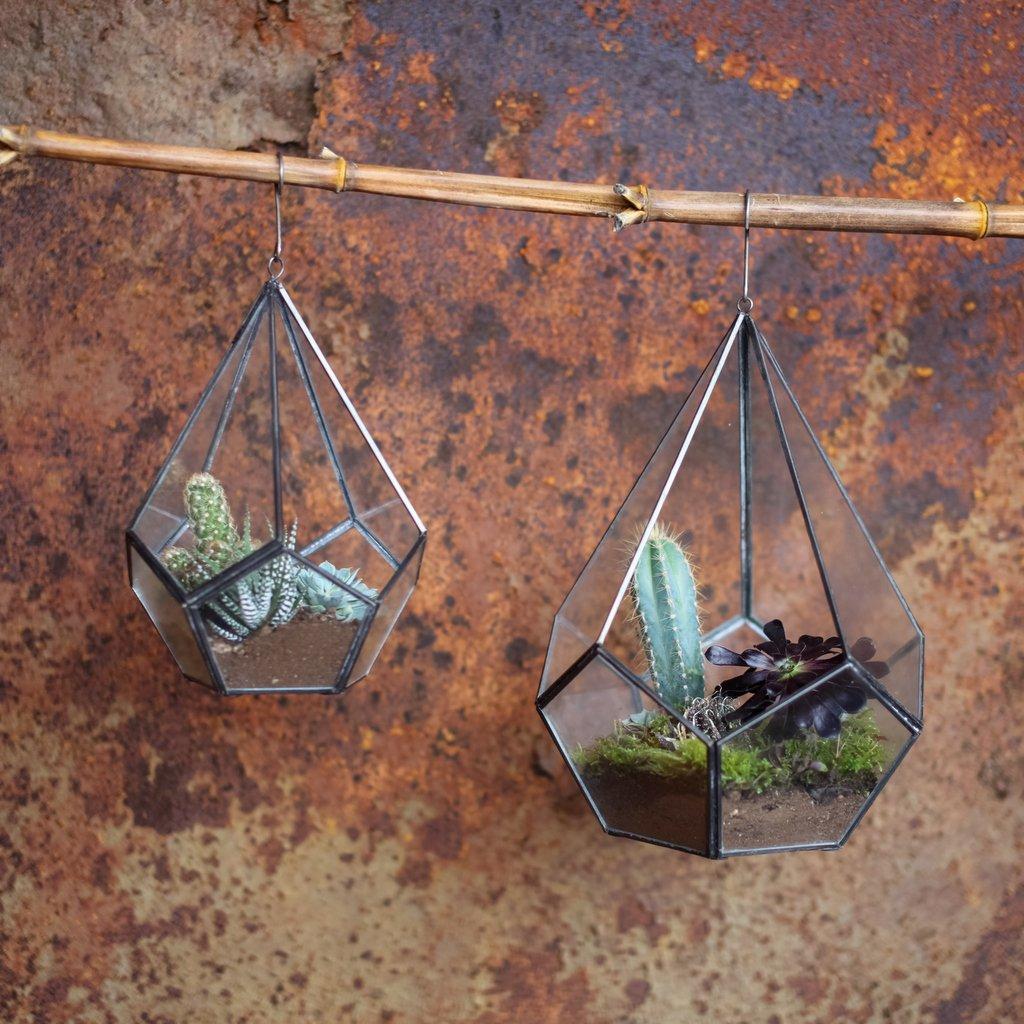 Hanging Zinc Planter