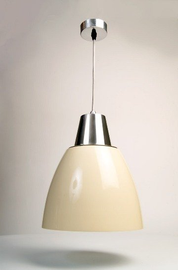 Noah Pendant Light - Cream (White Inside) save 40%