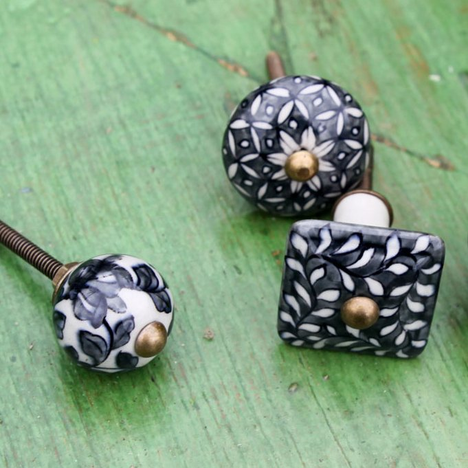 Ceramic Cabinet Knob - Oditi