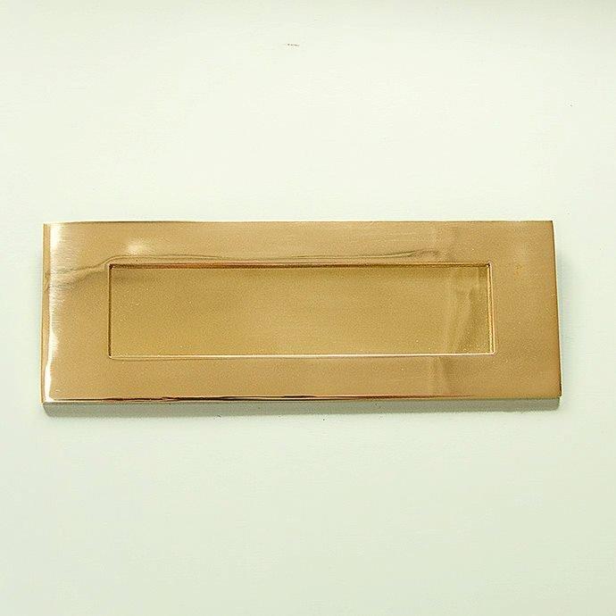 Original Style Letterplate - Brass