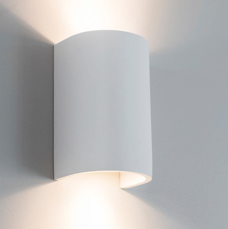 Plaster Double Wall Light SAVE 15%