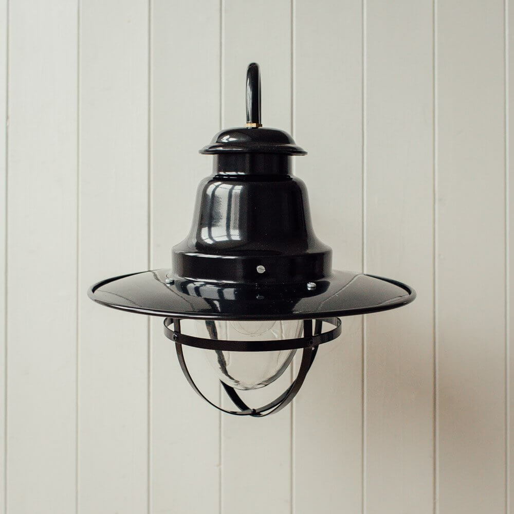 Quayside Wall Mounted Light - Black