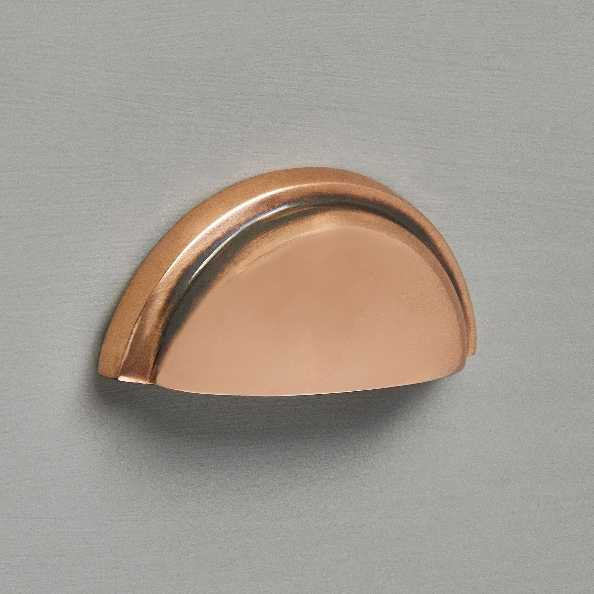 Regency Concealed Drawer Pull - Polished Bronze