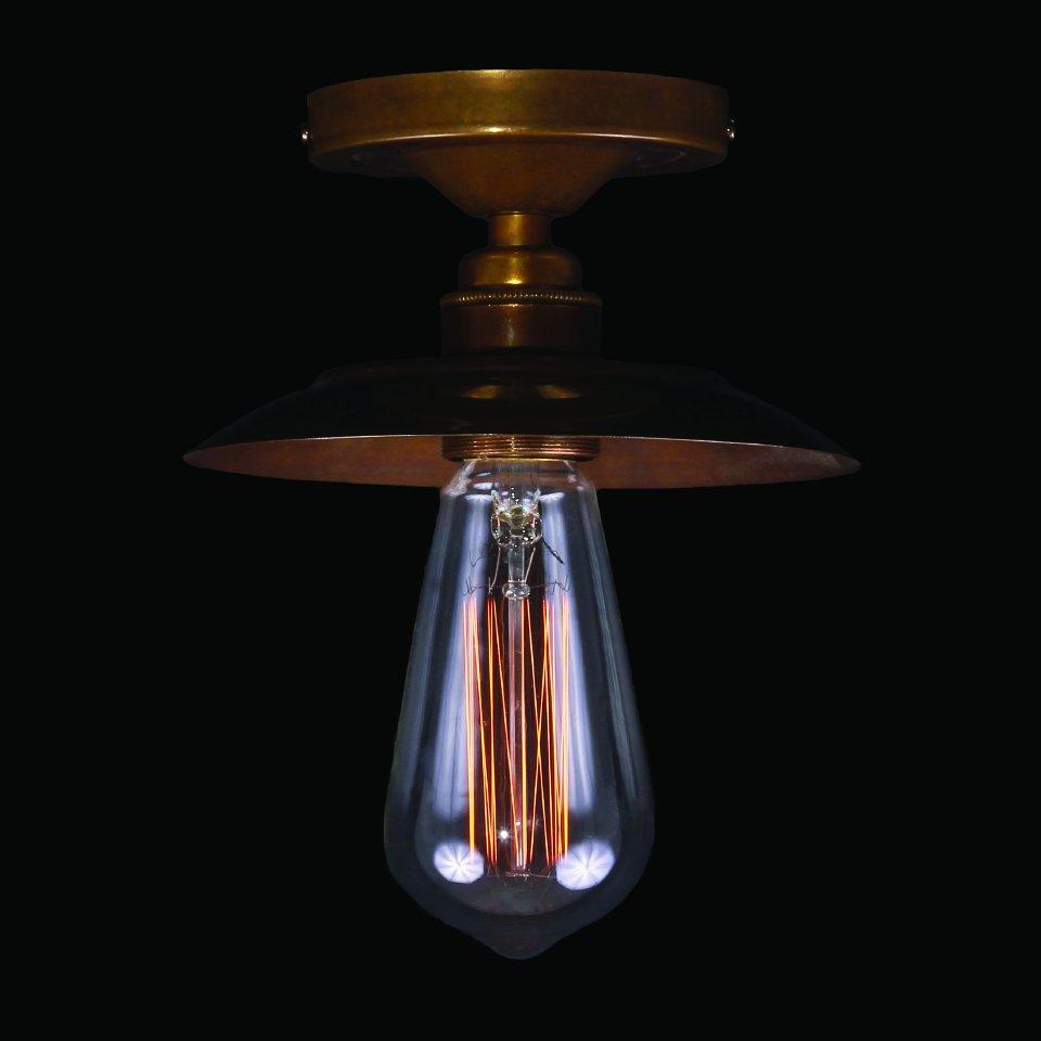 Industrial Flush Ceiling Light