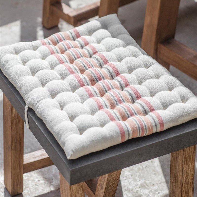 Sunset Stipe Cotton Cushions - Set of 4