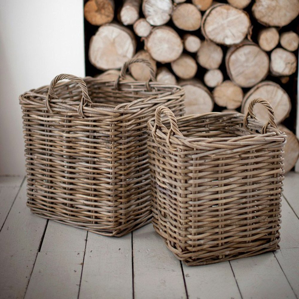 Log Basket - Square SAVE 35%