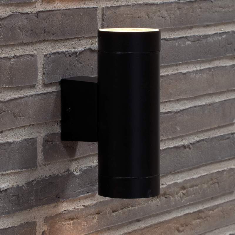 Tube Up & Down Light - Black