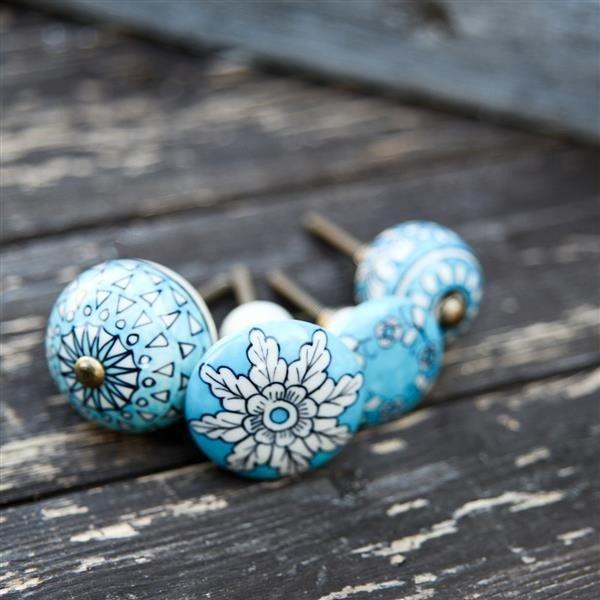 Ceramic Cabinet Knob - Tulsi SAVE 30%