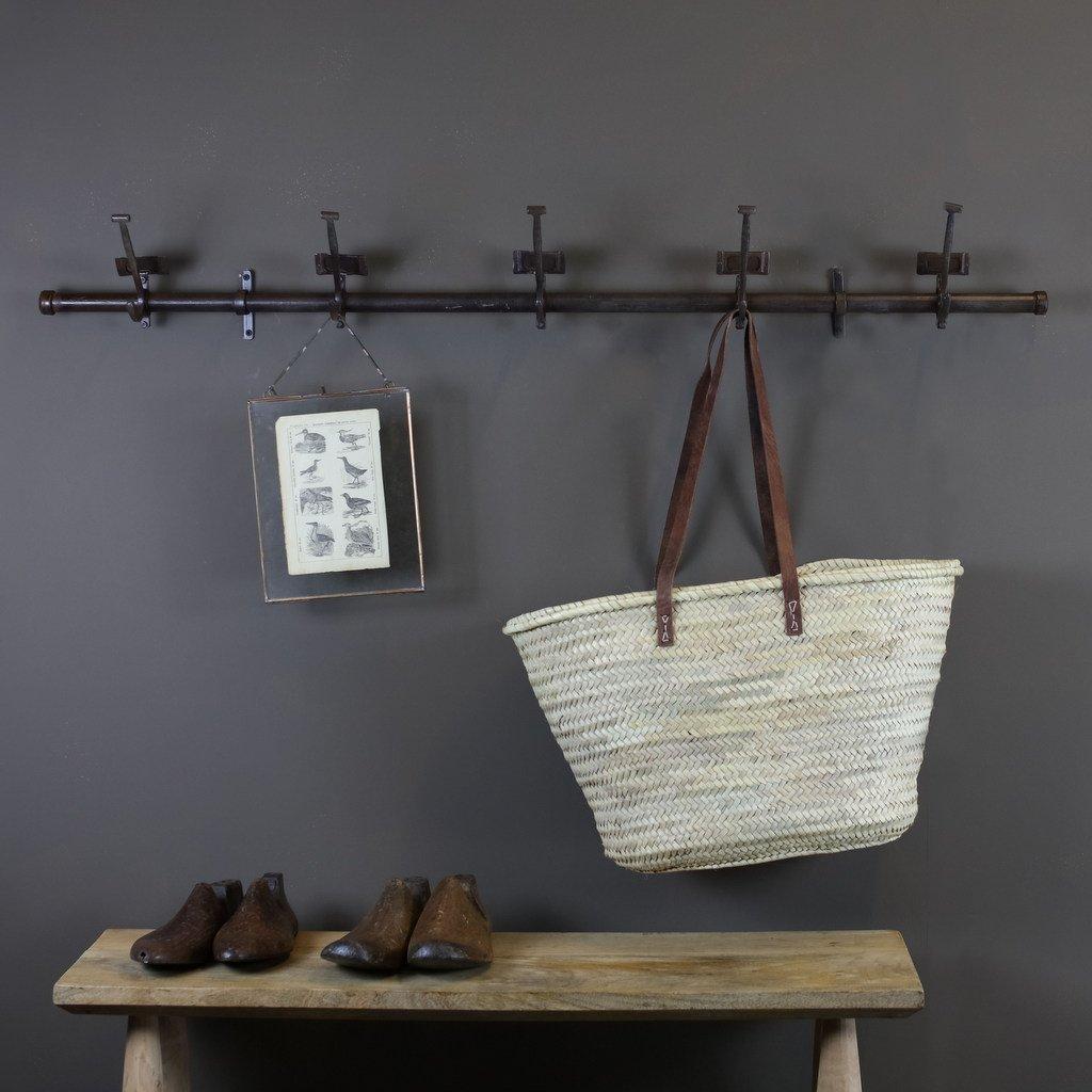Vintage Iron School Hooks