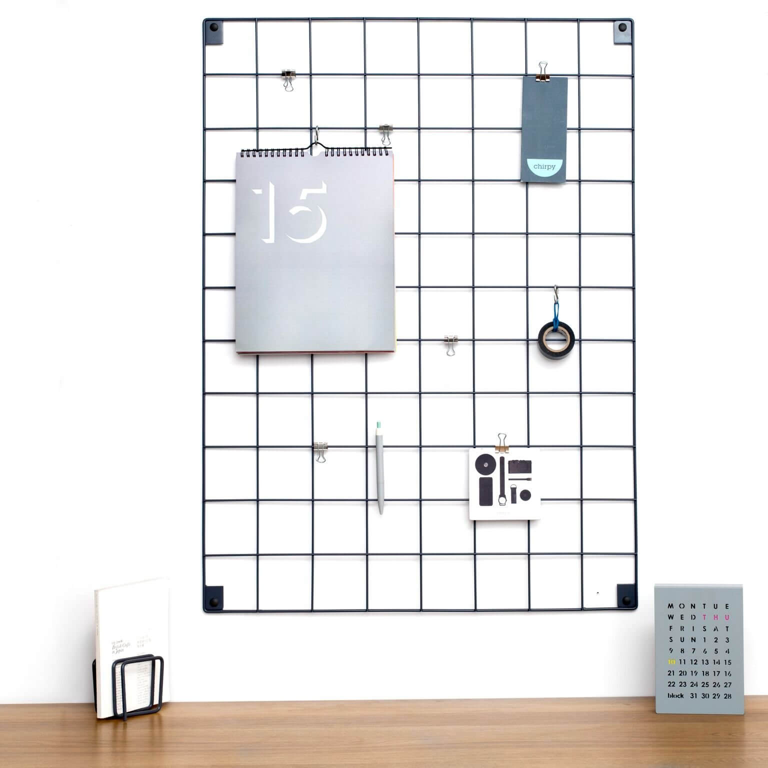 Wire Mesh Memo Board - save 30%